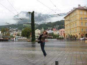 Ultima zi, la întoarcere, în Innsbruck. Austria, our love. We'll be back to you!