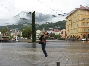 Ultima zi, la întoarcere, în Innsbruck. Austria, our love. We'll be back to you!