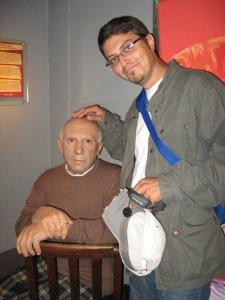 Înainte de plecare, am avut ocazia să stau la o şuetă cu însuşi Picasso. :)